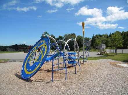 Playground Equipment for Rockport Camden Elementary School
